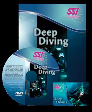 Billede af SSI Deep Diving Manual