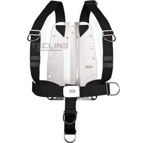 Tecline rustfri bagplade 6mm med DIR harness thumbnail