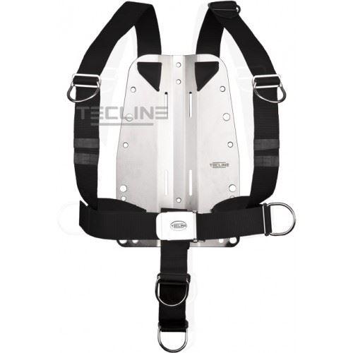 Tecline rustfri bagplade 6mm med DIR harness thumbnail