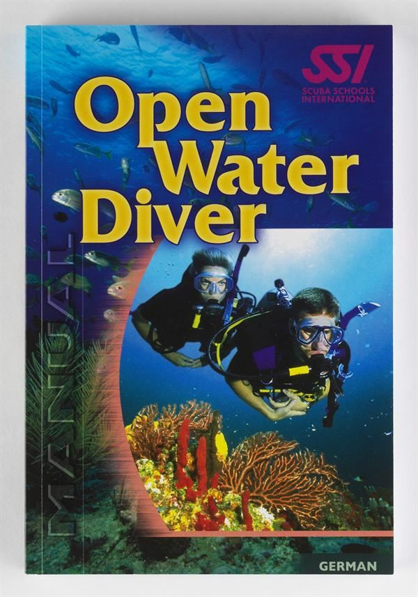 SSI Open Water Dive Manual thumbnail