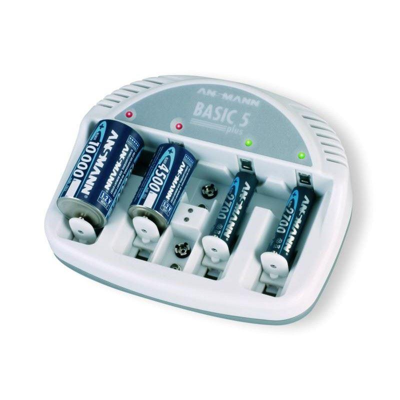 Ansmann basic 5 Lader til NIMH batteri thumbnail