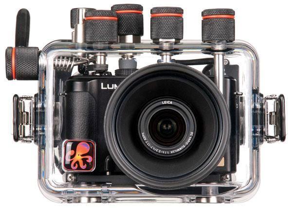 Billede af Panasonic Lumix LX7 med undervandshus