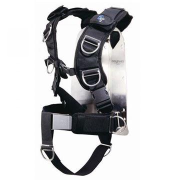 Billede af IST deluxe style harness med bagplade