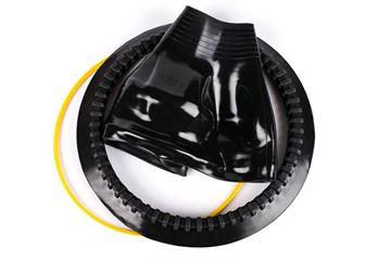 Billede af montering eller udskiftning af sitech hals ringsystem