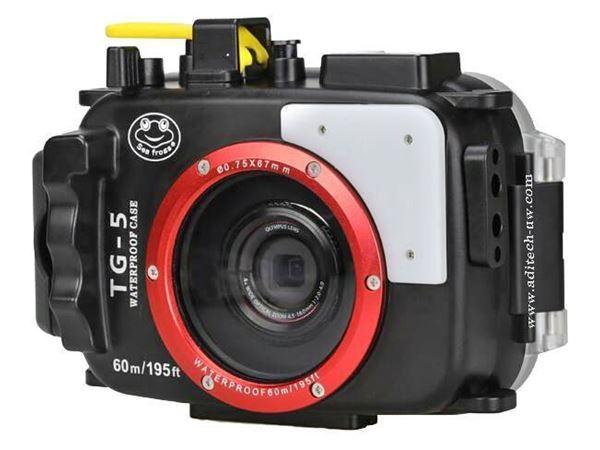 Billede af SeaFrog Olympus TG-6  inkl arm og blits