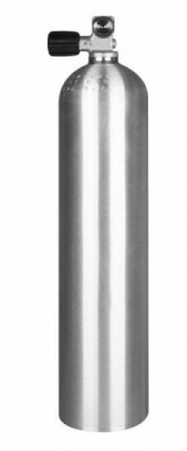 11,1L ALU 200 bar tank incl valve thumbnail