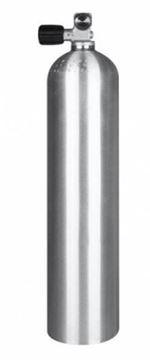Billede af 11,1L ALU 200 bar tank incl valve