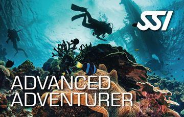 Billede af SSI Advanced kursus 5 dyk