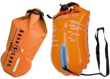 Billede af Dry bag 15L orange svømmebøje