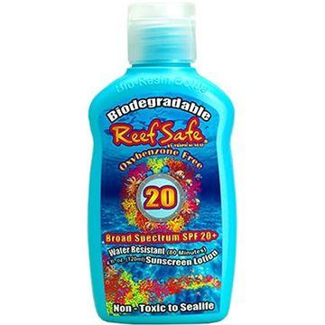 Billede af Oxybenzone fri Reef Safe miljøvenlig solcreme
