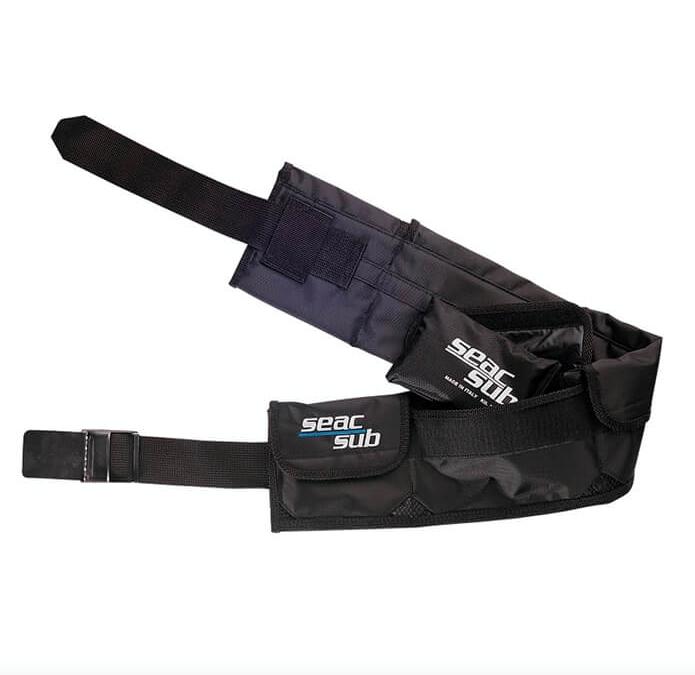 Seac Vægtbælte med lommer og metalspænde thumbnail