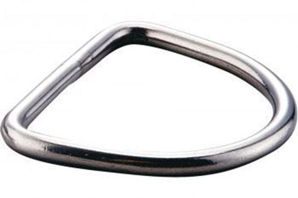 Billede af D ring lige