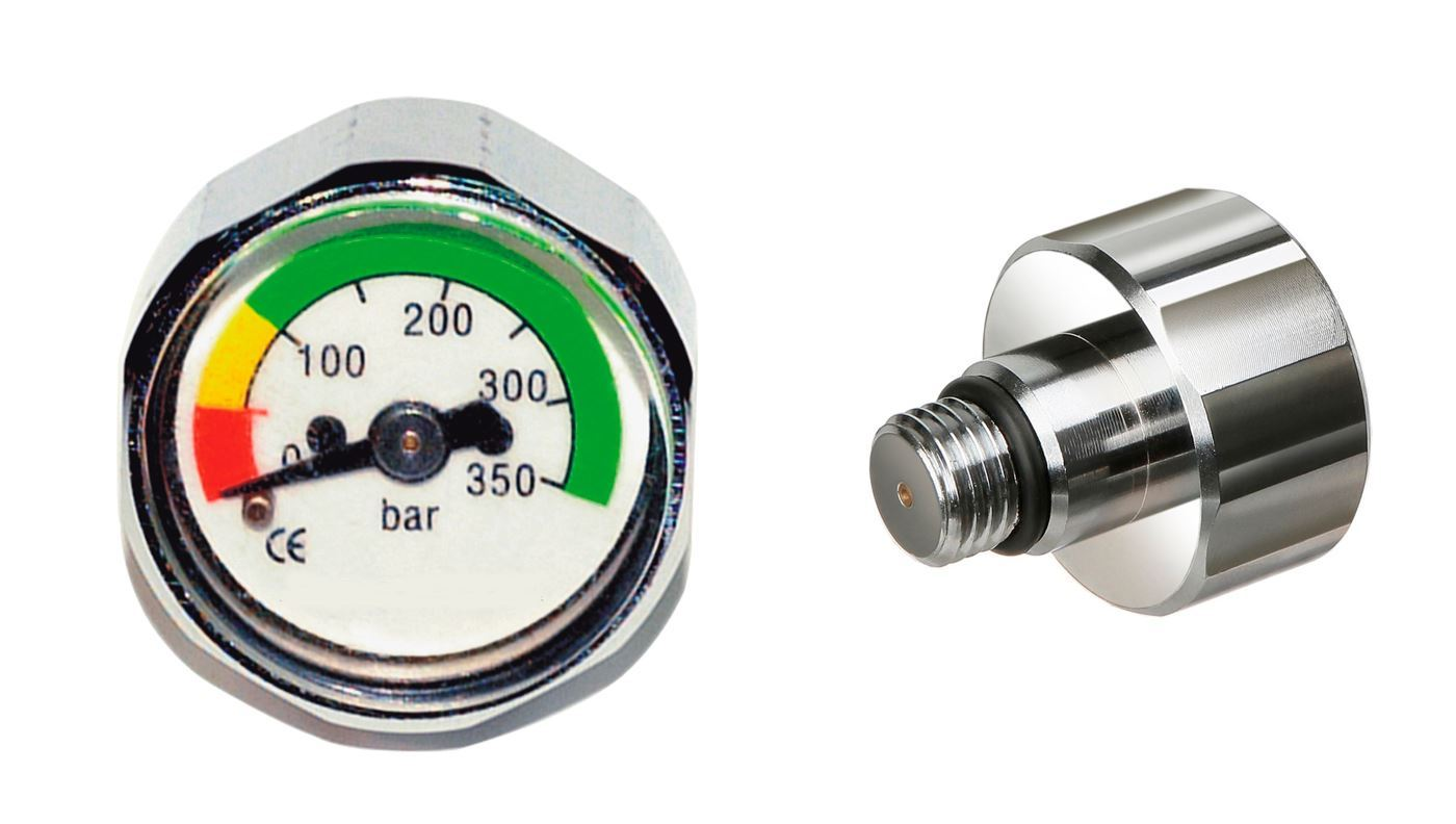 Manometer Mini TIL1. ST 350 BAR 7/16UNF Ø 23MM thumbnail