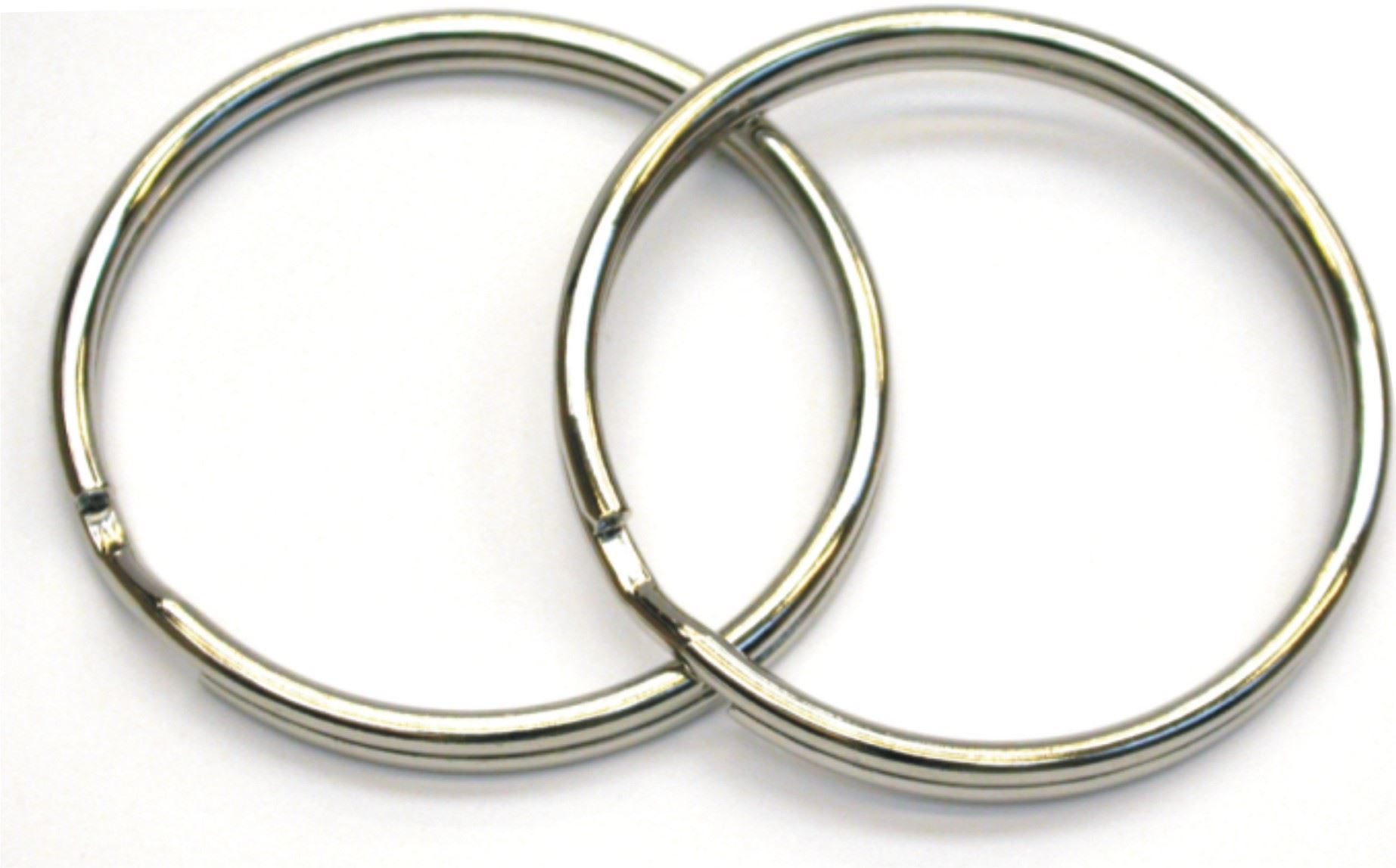 SPLIT RINGS STAINLESS Ø 38 MM 2 stk thumbnail