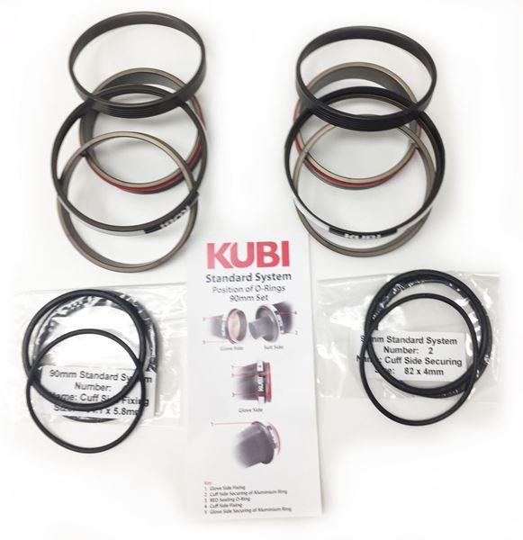 Billede af KUBI - Tør handske System +  Ring's & O-Ringe