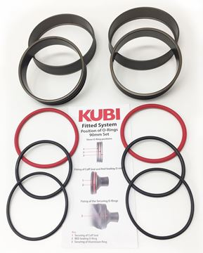 Billede af KUBI - Fitted Dry Glove System Cuff Side Only