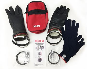 Billede af KUBI -  Fuldt Dry Handske system, Ringe og handsker medfølger
