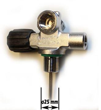 Billede af VENTIL DIN 230 BAR MG25/2 LEFT EXPANDAABLE uden blind plug