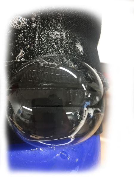 Billede af Trykprøvning/leakage test - Tørdragt defineret område