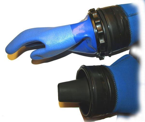 Billede af Montering af SI-TECH Arm-ringsystem til tørdragt