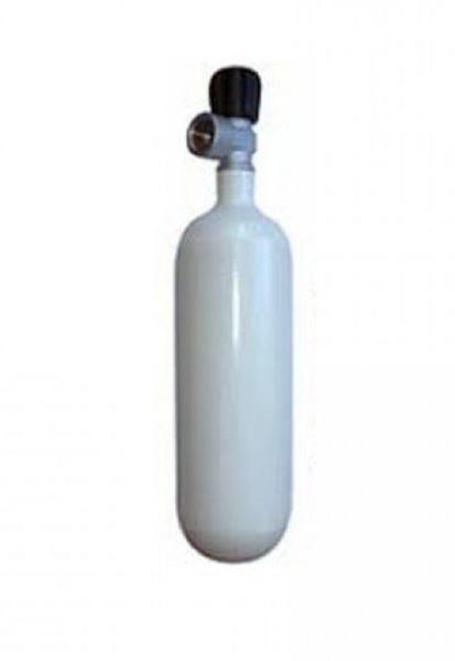 Billede af 1L 200 bar FLASKE Inert Gas ventil W21.8