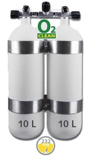 Billede af Cleaning Nitrox Twin sæt 100 O₂