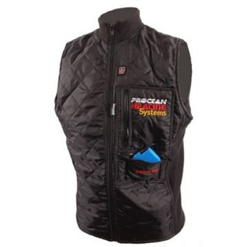 Procean Heated Vest B200 sort
