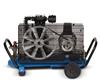Dykkerkompressor Coltri Elektrisk Sort Blå Bagside