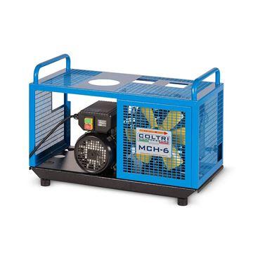 EM COMPACT  kompressor blå forside