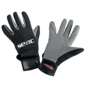 Amara Comfort handsker sort grå
