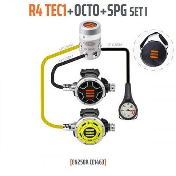 Billede af Tecline Regulator Sæt R4 Tec 1