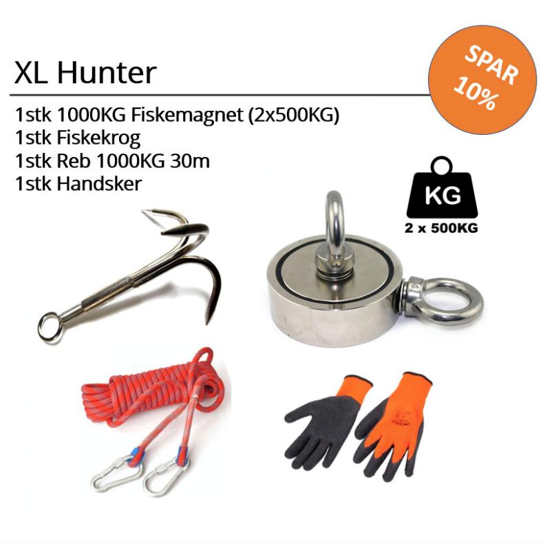 Fiskemagnet - XL Hunter Sæt thumbnail