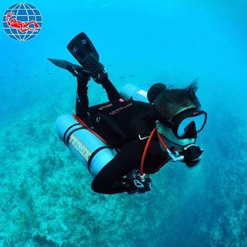 Billede af PADI Sidemount Diver Specialty