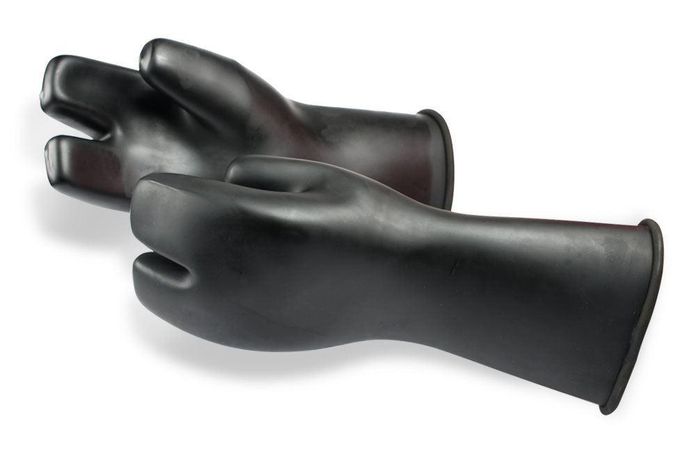 Si Tech 3-finger latex handsker thumbnail