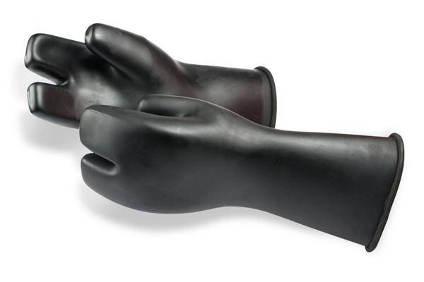 Billede af Si Tech 3-finger latex handsker