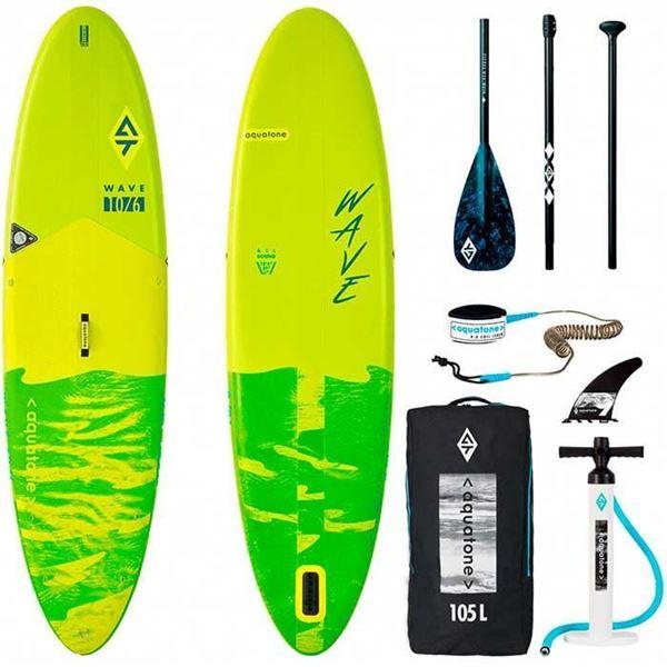 Billede af Aquatone Wave Original Oppustelig Stand Up Paddle Board 10'6 -Pakke