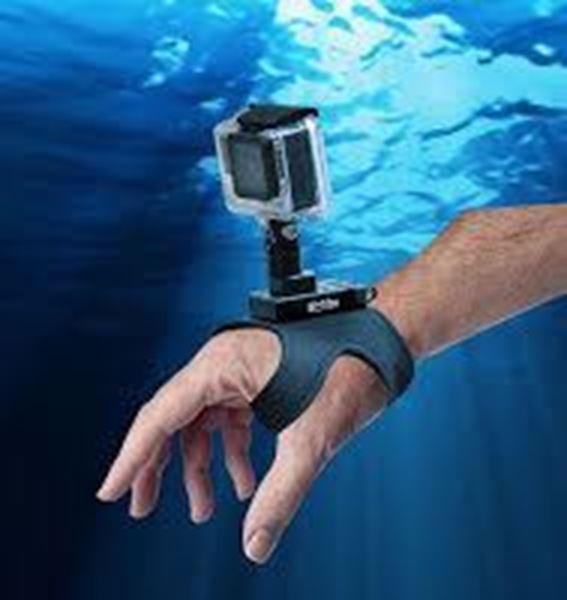Billede af Bigblue easy release mount with go pro mount glove