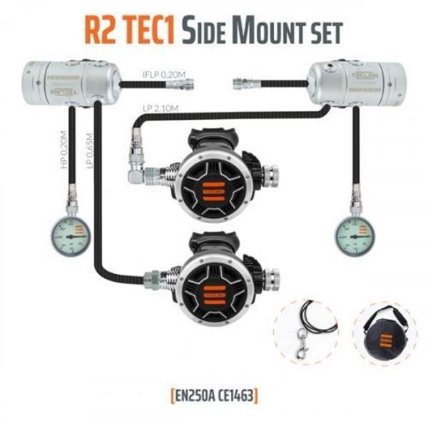 Billede af Tecline Regulator sæt R2 TEC 1 Sidemount