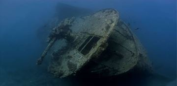Billede af Dykning fra båd